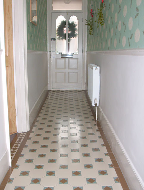 Palace Victorian Installer Of Geometric Tiled Hallways And Pathways